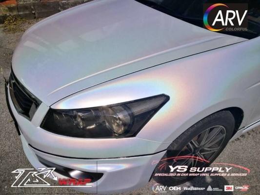 CARV2004 - Glossy Laser White