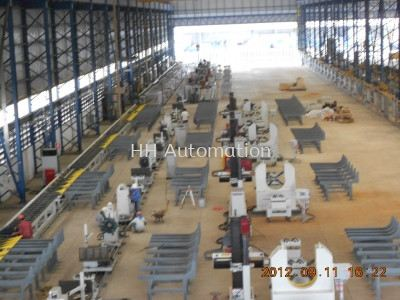 Automatic Pipe Prefabrication Welding Production Line