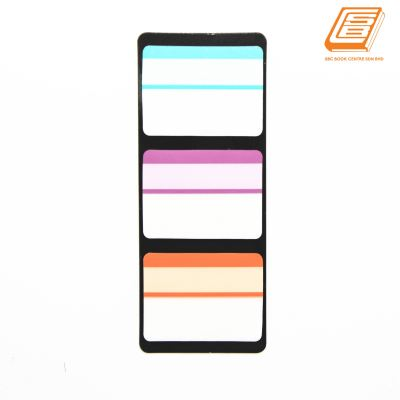 Scnipti - Transparent Neon Colour Memo Pads - (46431)