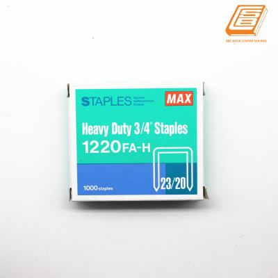 Max - Heavy Duty 3:4 Staples 1220 FA-H - (23:20)