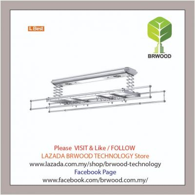 L BEST M01-1204AXFP: INTELLIGENT SMART AUTOMATION CLOTHES DRYING RACK C/W COOL FAN & UV LIGHT