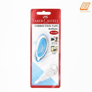 Faber-Castell - Correction Tape Refillable - 5mm x 6m - (PET - 169102 )