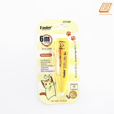 FASTER - Animal Series Correction Tape Refillable - 5mm x 6m - ( CT-F-625)