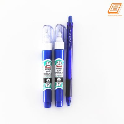 Pental - Fine point - Correction Pen - 2pcs - (ZL62W)