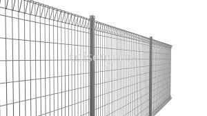 Anti-Climb Security Fence