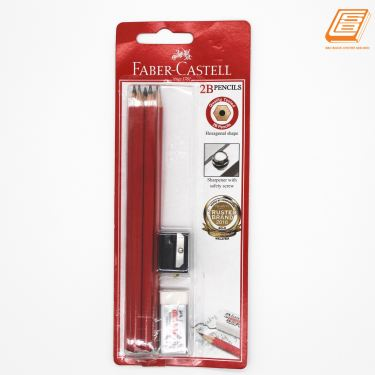 Faber-Castell - 2B Pencil Set - (1323-132306)