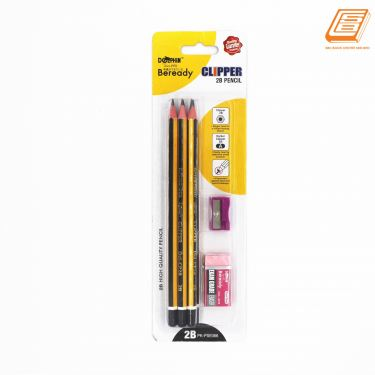 Dolphin - Clipper  2B Pencil  - (PK-PSE066)