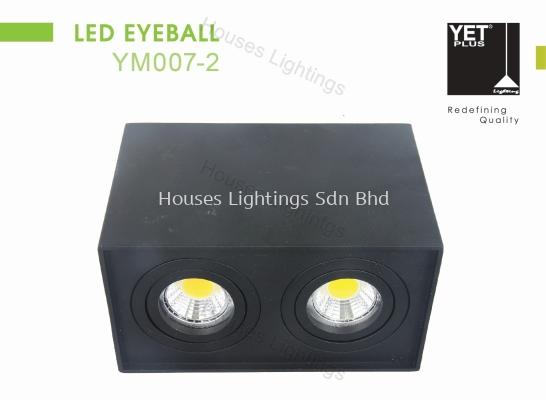 YET YM007-2_BK WH GU10