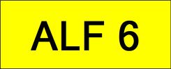 ALF6 VVIP Plate