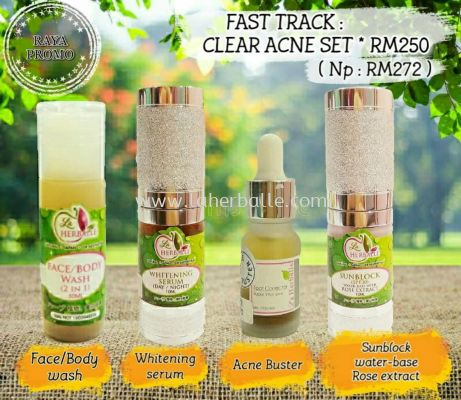 FAST TRACK CLEAR ACNE SET