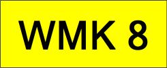 WMK8 VVIP Plate