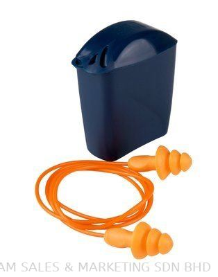 3M™ Corded Reusable Ear Plugs with Storage Case 1271 (OHHERMM1100004)