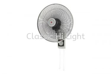 KDK KV408 Wall Fan (Grey)