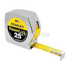 Stanley Power Lock Measuring Tape (8 Meters)