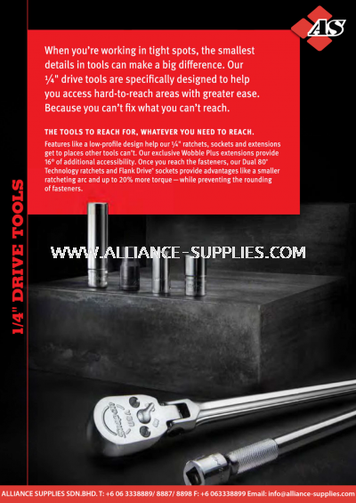 """1.02.1 SNAP-ON 1/4"""" Drive Tools"""