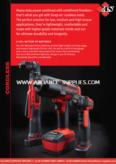 1.03.1 SNAP-ON Cordless