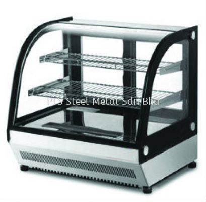 CURVE GLASS DISPLAY COOLER-TABLE TOP (3ft)