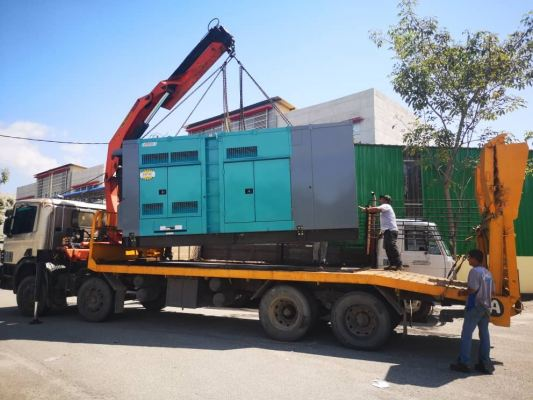 Genset Rental Unit 500KVA Project Petronas Rapid Phase 2 at Pengerang Johor