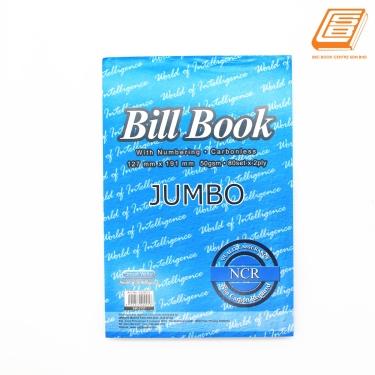 SW -  NCR Bill Book 2ply - 2 x 80set , 127mm x 191mm -(0737)