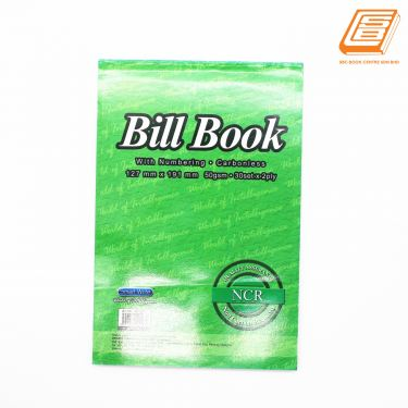 SW -  NCR Bill Book 2ply - 2 x 30set , 127mm x 191mm  -(0745)
