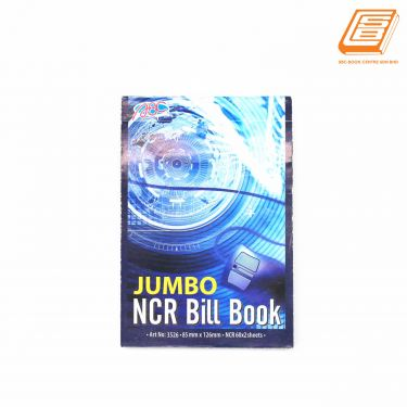 ABC - Jumbo NCR Bill Book 2ply - 85mm x 126mm - 60 x 2sheets - (3526)