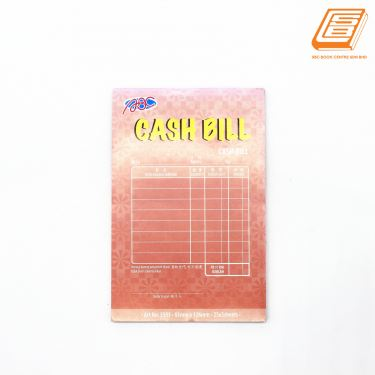 ABC - Cash Bill 3ply - 83mm x 126mm - 25x3sheets - (3503)