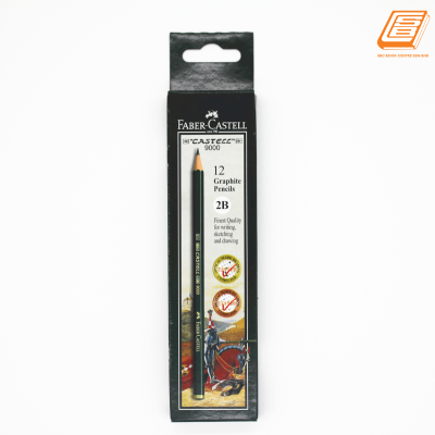 Faber-Castell - 9000 Graphite Pencil -2B - (HB-117102)