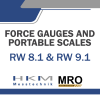 Portable Wheel Load Scale RW8.1 & RW 9.1 Portable Wheel Load Scales Force Gauges and Portable Scales HKM MESSTECHNIK