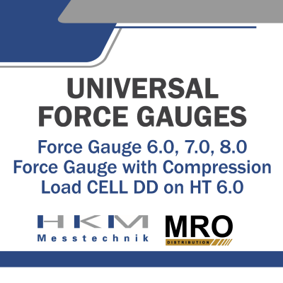 Force Gauge ZW 6.0, 7.0, 8.0 & Force Gauge with Compression Load Cell DD on HT 6.0