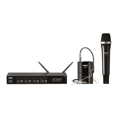 AKG DMSTetrad Mixed Set (EU) Professional digital four channel wireless system