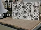 PCV White Form Router Cutting