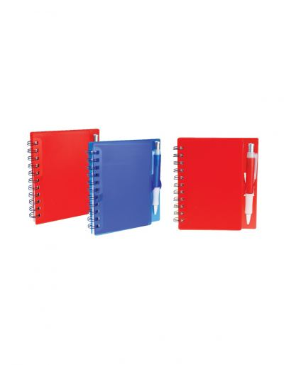 NB2283 Hard Cover Notebook With Pen