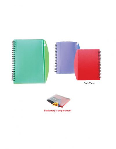 NB1204 Notebook With PVC Case