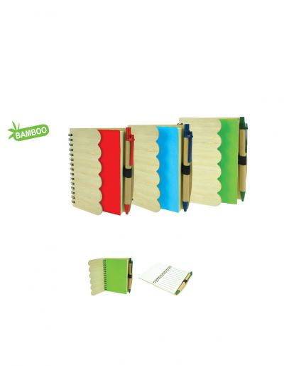 NB708B Eco Notebook With Pen