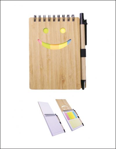 NB05B Eco Notebook With Pen
