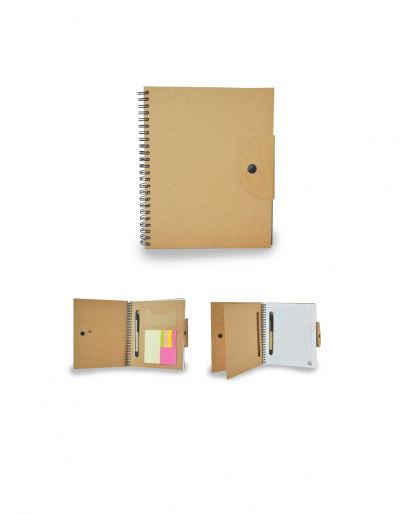 ENB3002 Eco Notebook With Pen