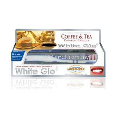 Coffee and Tea Drinkers Formula Whitening Toothpaste