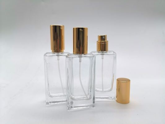PERFUME BOTTLE (25ML) CLEAR SCREW NECK