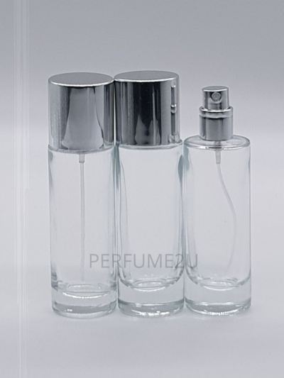 PERFUME BOTTLE (35ML) CLEAR SCREW NECK