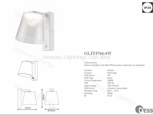 DESS GLJT4766-6W IP20
