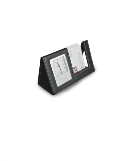 PUDT110 Namecard Holder with Clock