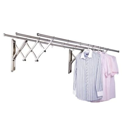 Wall outdoor extension clothes horse (S/Steel)