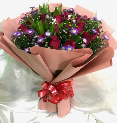 Roses Hand Bouquet (HB-840)