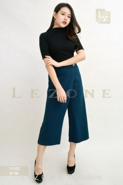 8136 WRAP 3/4 CULOTTES【Online Exclusive Promo 41% OFF】
