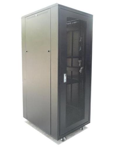 24U 600(W) X 1000(D) X 1237(H) PERSPEX DOOR RACK MOUNT CABINET
