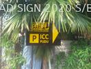 Road Sign Reflective Stand Pole Signboard Road Signboard