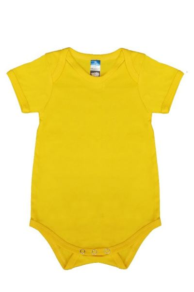 Basic Fully Combed Rompers (Yellow)