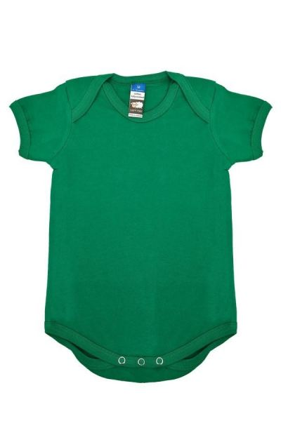 Basic Fully Combed Rompers (Kelly Green)