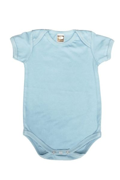 Basic Fully Combed Rompers (Sky Blue)