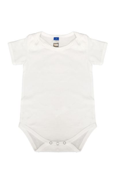 Basic Fully Combed Rompers (White)